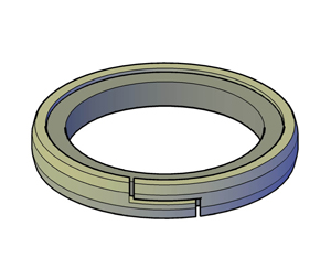 Piston Composite - Z-Cut Nylon