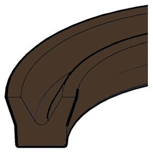 U-Ring - Viton - Symmetrical