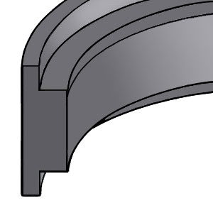 Guide Ring - Piston - T-Shaped