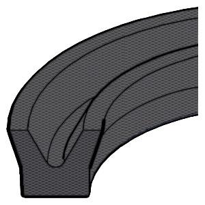 U-Ring - Fabric - Symmetrical